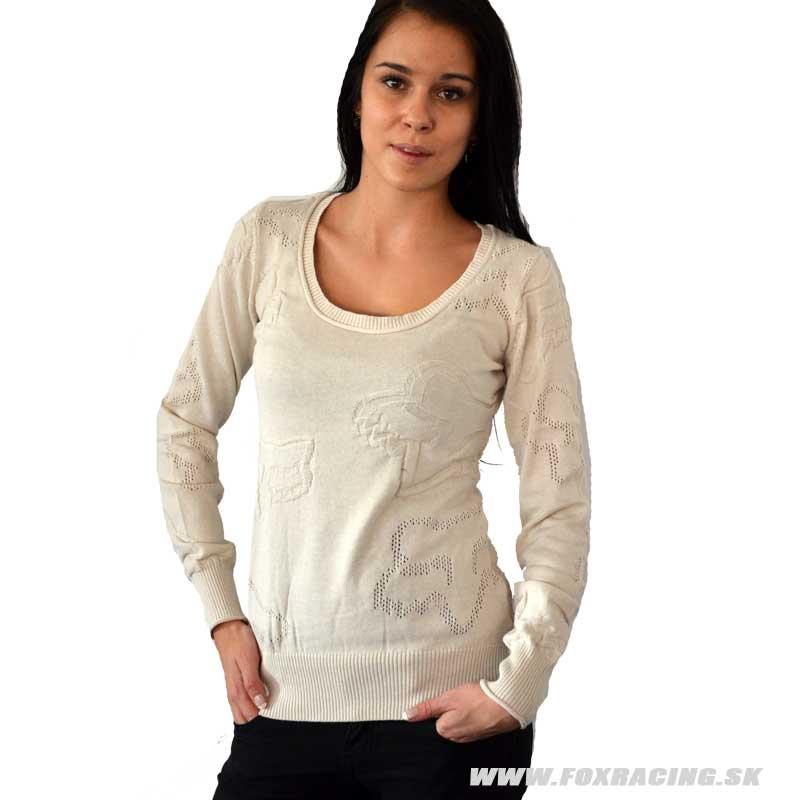 Fox dámsky sveter Novice - Zľavy 4ff3f5537a7