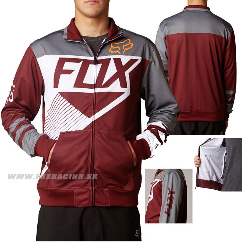 5738872ed2 Fox mikina Winner track jacket - Zľavy