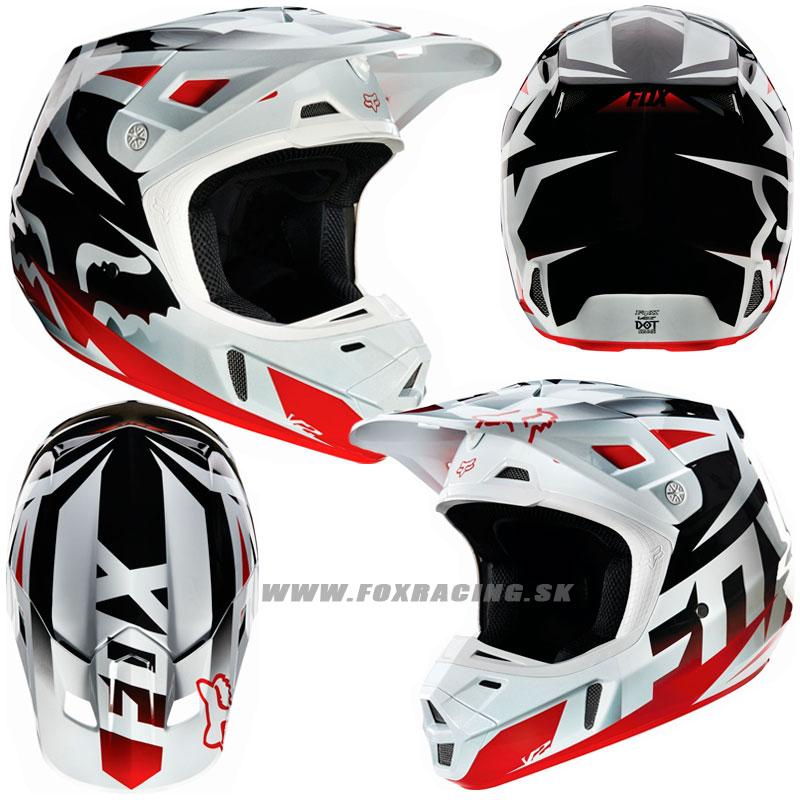 ec5751fd60588 FOX prilba V2 Race - Zľavy, Moto, Prilby | FOX RACING