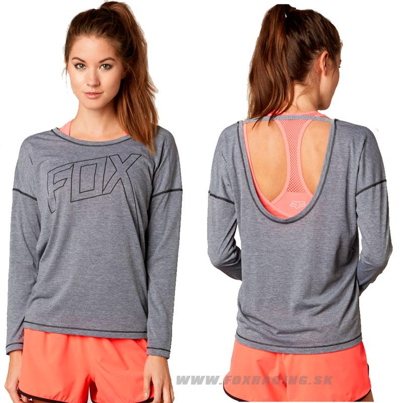 0fcb0dc58427 FOX tričko Ultimatum Tech L S - Oblečenie