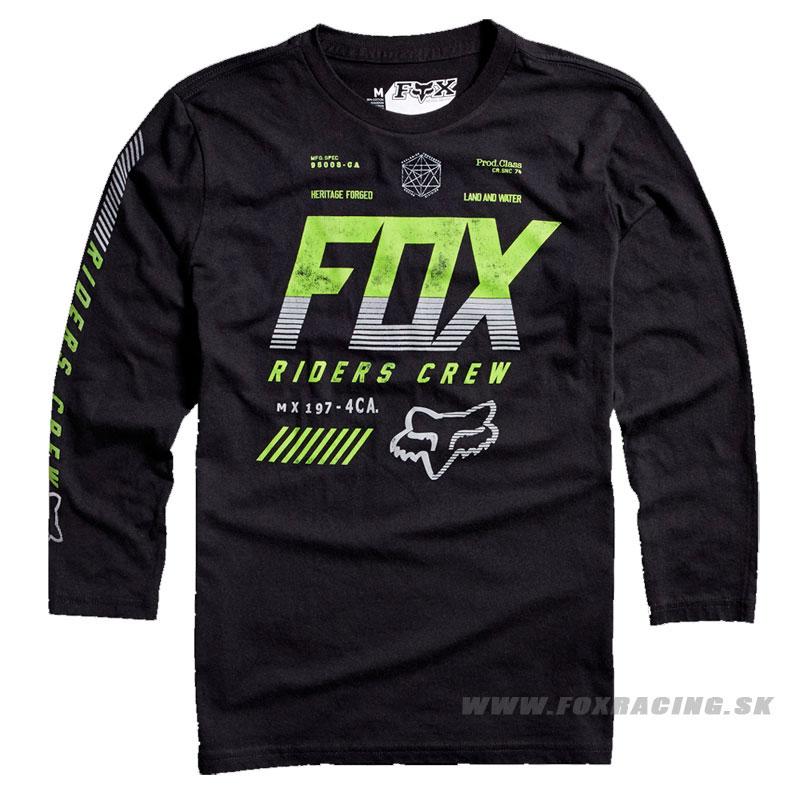 FOX chlapčenské tričko Escaped l s. čierna - Oblečenie 216ffe168c6
