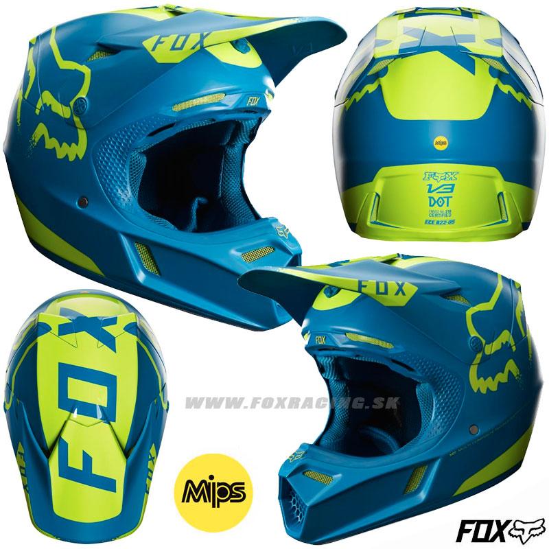 ee6768065f306 FOX prilba V3 Moth LE - Zľavy, Moto, Prilby | FOX RACING
