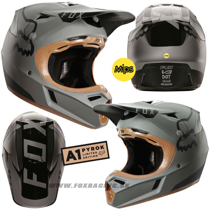 3c137fc73d905 FOX prilba V3 Moth LE Pyrok - Zľavy, Moto, Prilby | FOX RACING