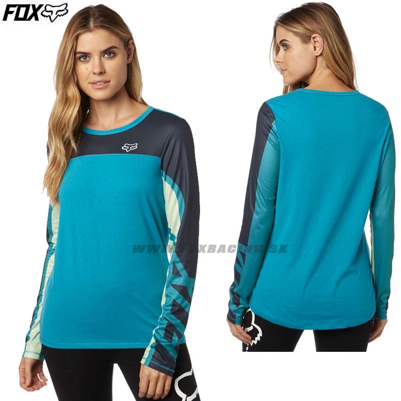 78762cff83 Farebné kombinácie  FOX dámske tričko Comparted Mesh L S