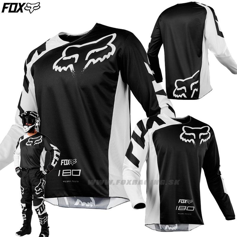 4273bec6fd FOX dres 180 Race jersey 18 - Moto oblečenie