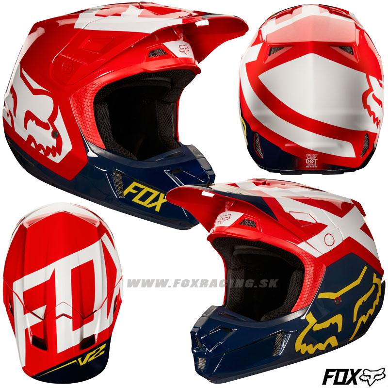 60891cfd812a9 FOX prilba V2 Preme helmet - Zľavy, Moto, Prilby | FOX RACING
