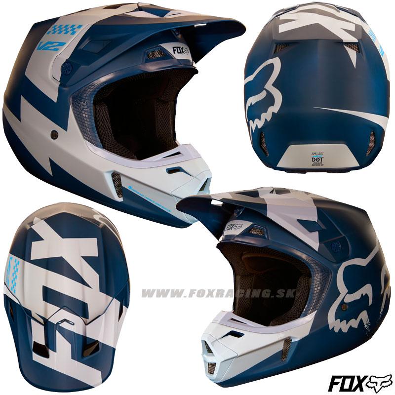2fed034fab7a7 FOX prilba V2 Mastar helmet - Moto oblečenie, Helmy, Mx/enduro | FOX ...