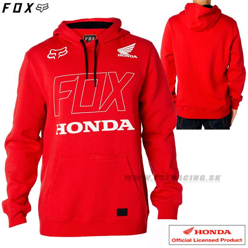 FOX mikina Honda Pullover fleece - Oblečenie b9890260c17