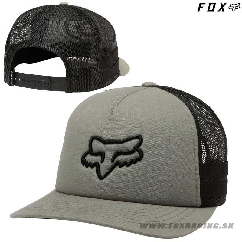 2afc0746f FOX Racing Tunnels Snapback Hat Black Trucker Cap MX Fox Shox Trucker Hat: FOX  šiltovka Head Trik Trucker