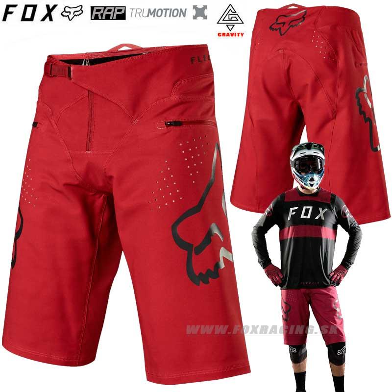 bf8764fc44 FOX cyklo šortky Flexair 18 - Cyklo oblečenie