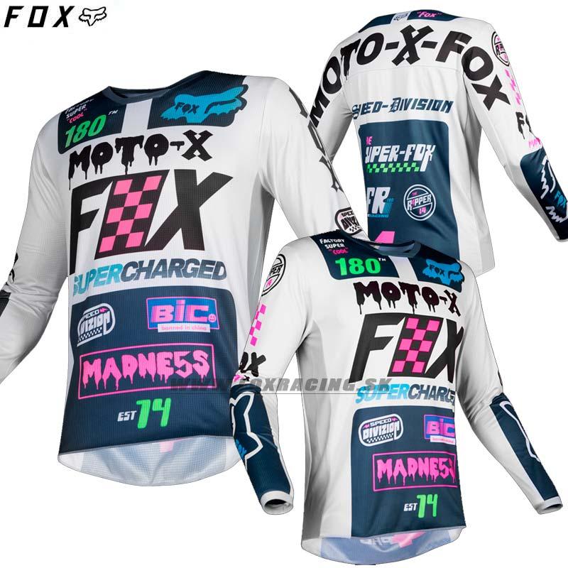 FOX detský dres 180 Czar jersey - Moto oblečenie 7a679d41ca