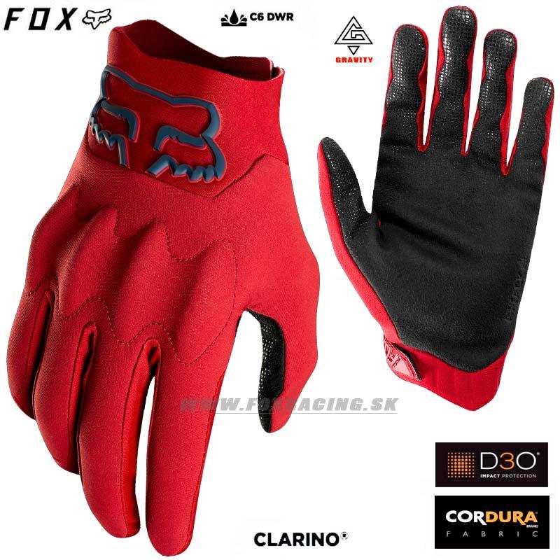 fdb2a9acdd0 FOX cyklo rukavice Attack Fire gl. - Cyklo oblečenie