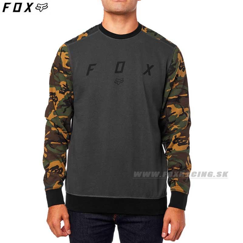 FOX mikina Destract Crew fleece - Oblečenie 0808282ab6a