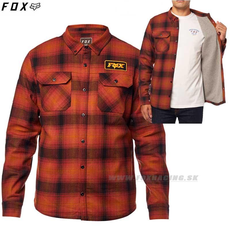 090a8508e FOX košeľa Gorman Overshirt 2.0 - Oblečenie, Pánske, Košele | FOX RACING