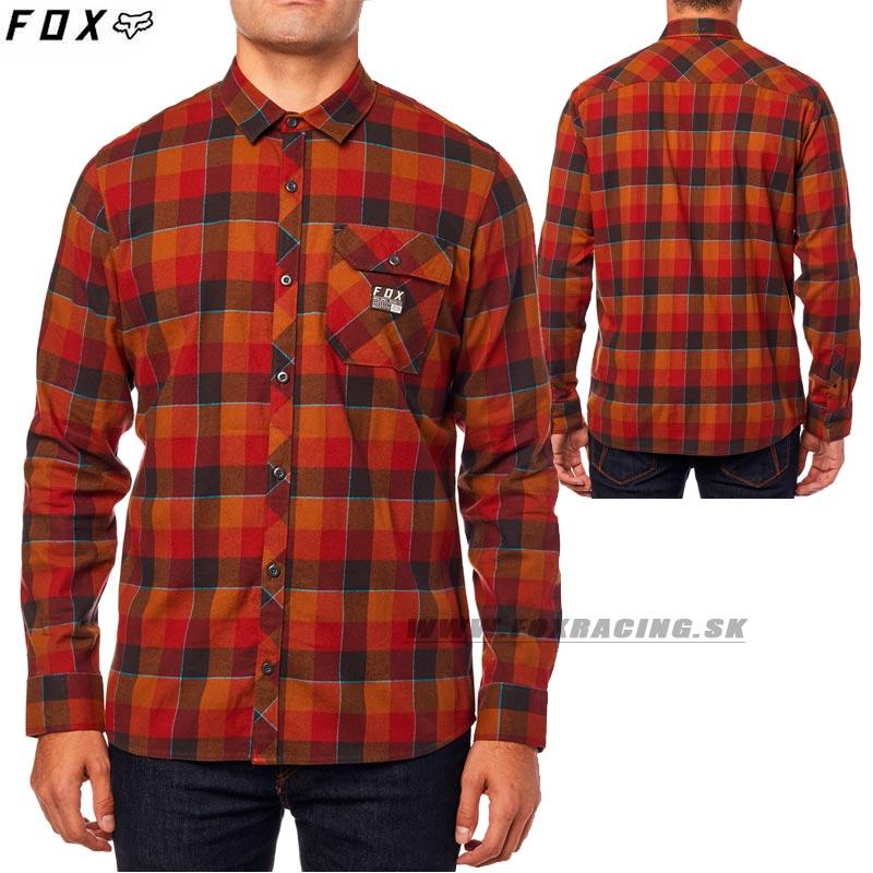 c30ae62d6052 FOX košeľa Rowan Stretch flanel - Oblečenie