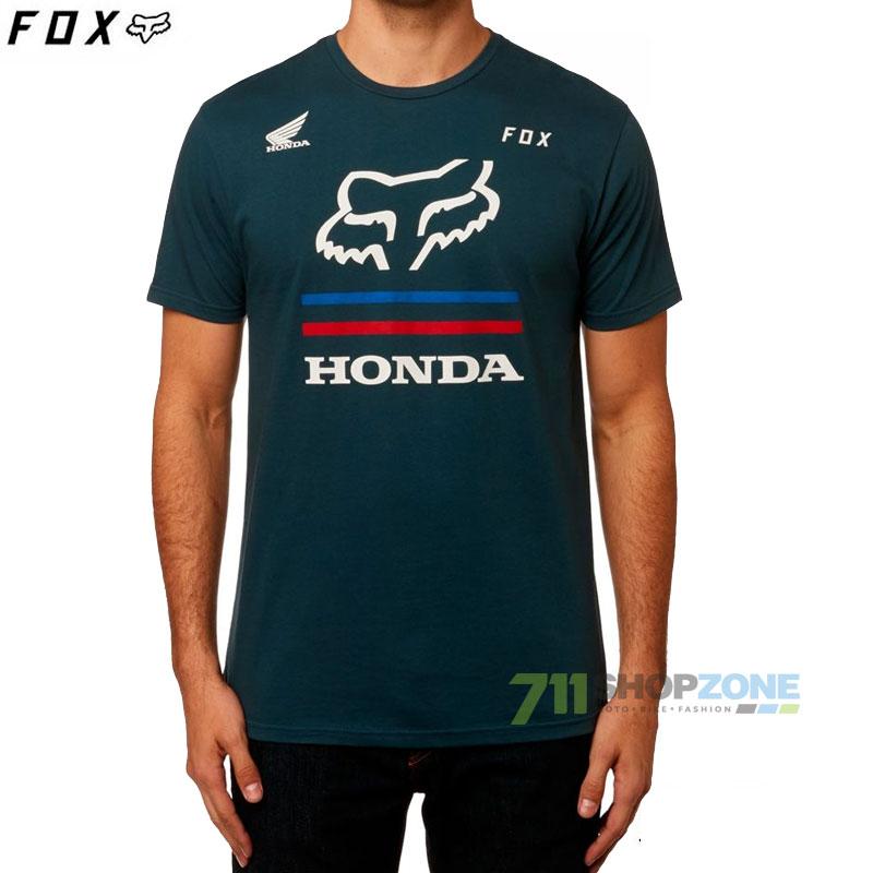 787e4e67ae Farebné kombinácie  FOX tričko Honda Premium s s tee