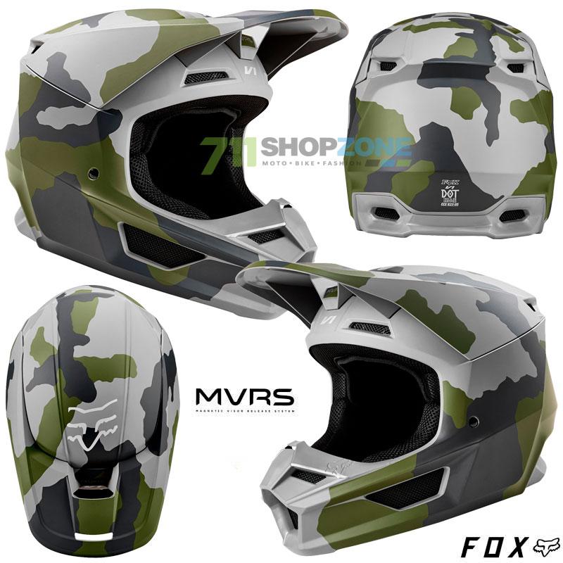 FOX prilba V1 Prizm Camo SE - Moto oblečenie f3cf29a534