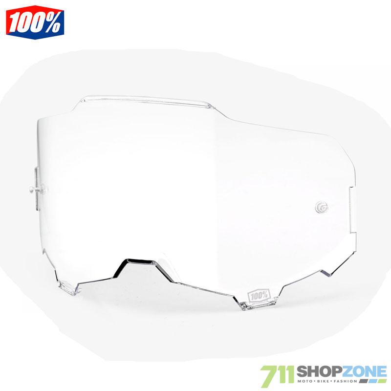 cdf20135b 100% Armega Ultra HD náhradné sklo číra - Moto oblečenie, Okuliare ...