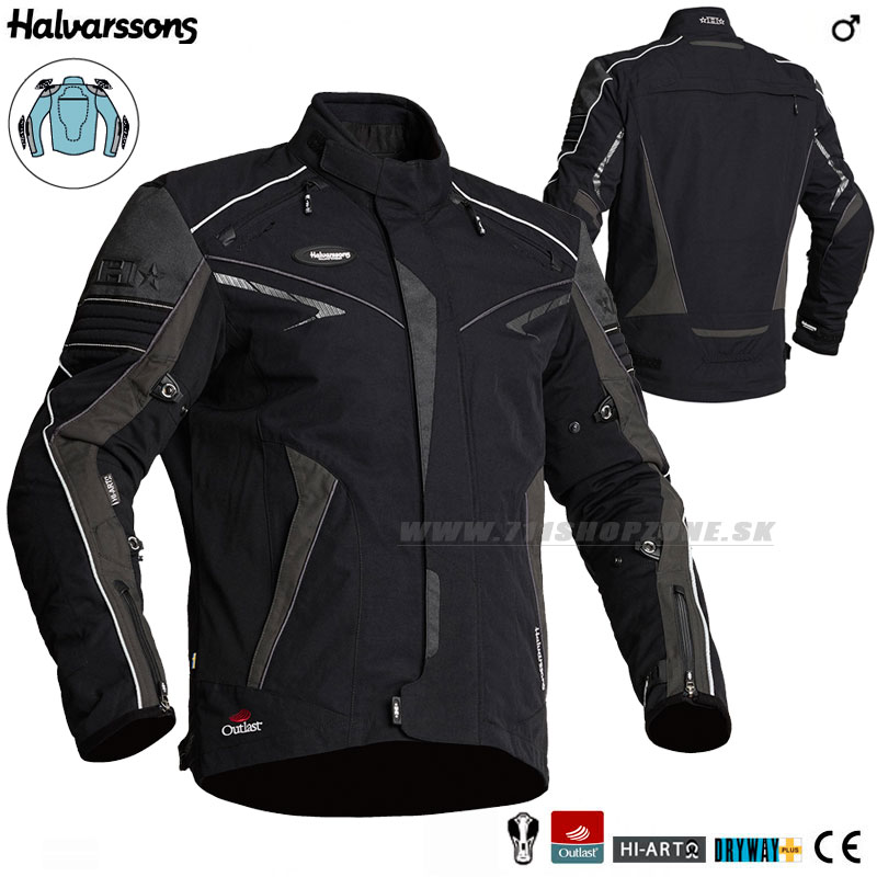 c337d3acdb32 Halvarssons bunda Hercules jacket - Moto oblečenie