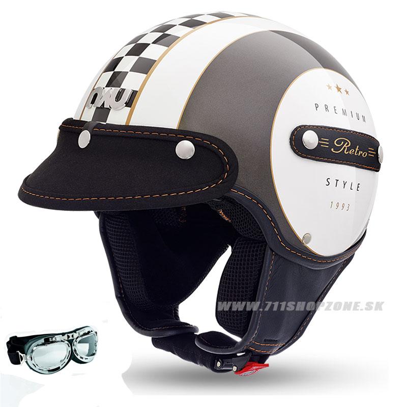 306c54470554f NAU Retro Jet helmet - Zľavy, Prilby na skúter | FOX RACING