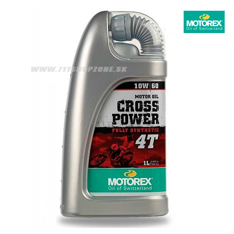 Technika - Oleje/mazivá, Motorex Cross Power 4T 10W60 1l