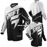 Shift dres Assault jersey, čierna