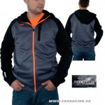 Fox mikina Restriction jacket, šedá