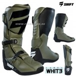 Shift čižmy Whit3 Label Boot, military