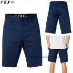 FOX šortky Stretch Chino short, modrá