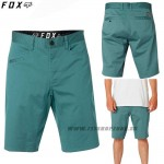 FOX šortky Stretch Chino short, smaragdová
