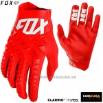 FOX rukavice 360 glove 19, červená