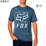 FOX tričko Murc Fctry s/s Tech tee, mod. šedá