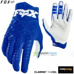 FOX rukavice 360 glove 20, modrá