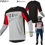 FOX dres Legion Drirelease Gain, šedá