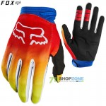 FOX rukavice Dirtpaw Fyce glove 20, modro červ