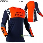 FOX dres Flexair Mach One jersey, modrá